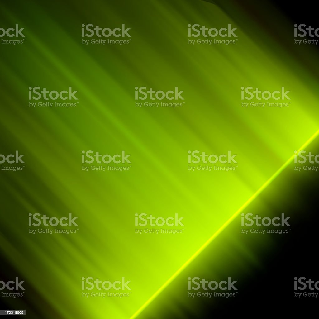 Abstract glowing green. EPS 10 royalty-free stock vector art
