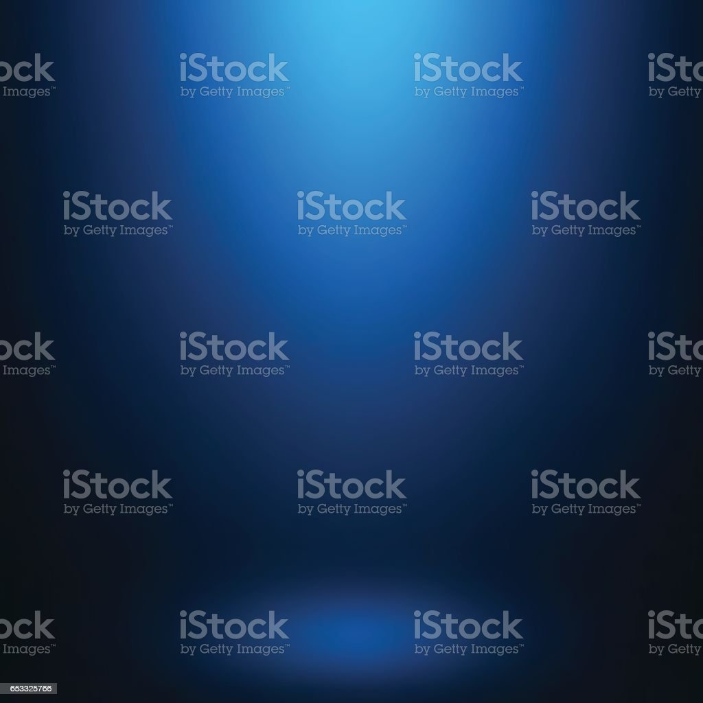 Abstract gradient blue, used as background for display your products...