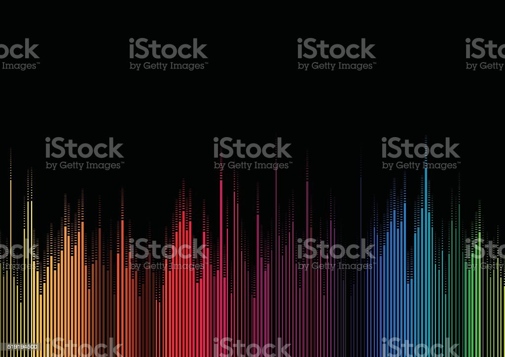 abstract gradient stripe pattern background vector art illustration