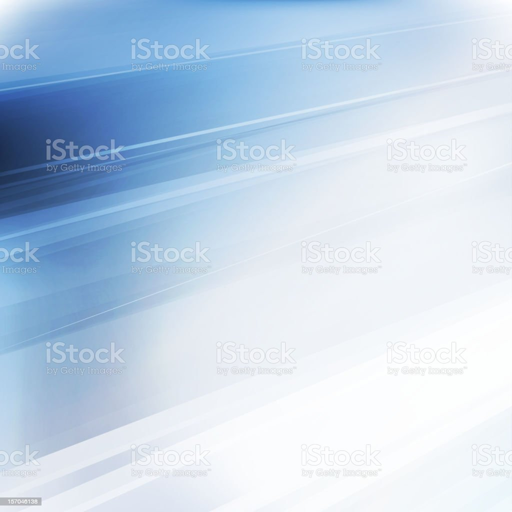 Abstract graphic image of some streaks of blue and white royalty-free stock vector art