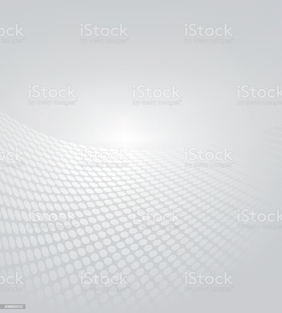 Abstract gray halftone background vector art illustration