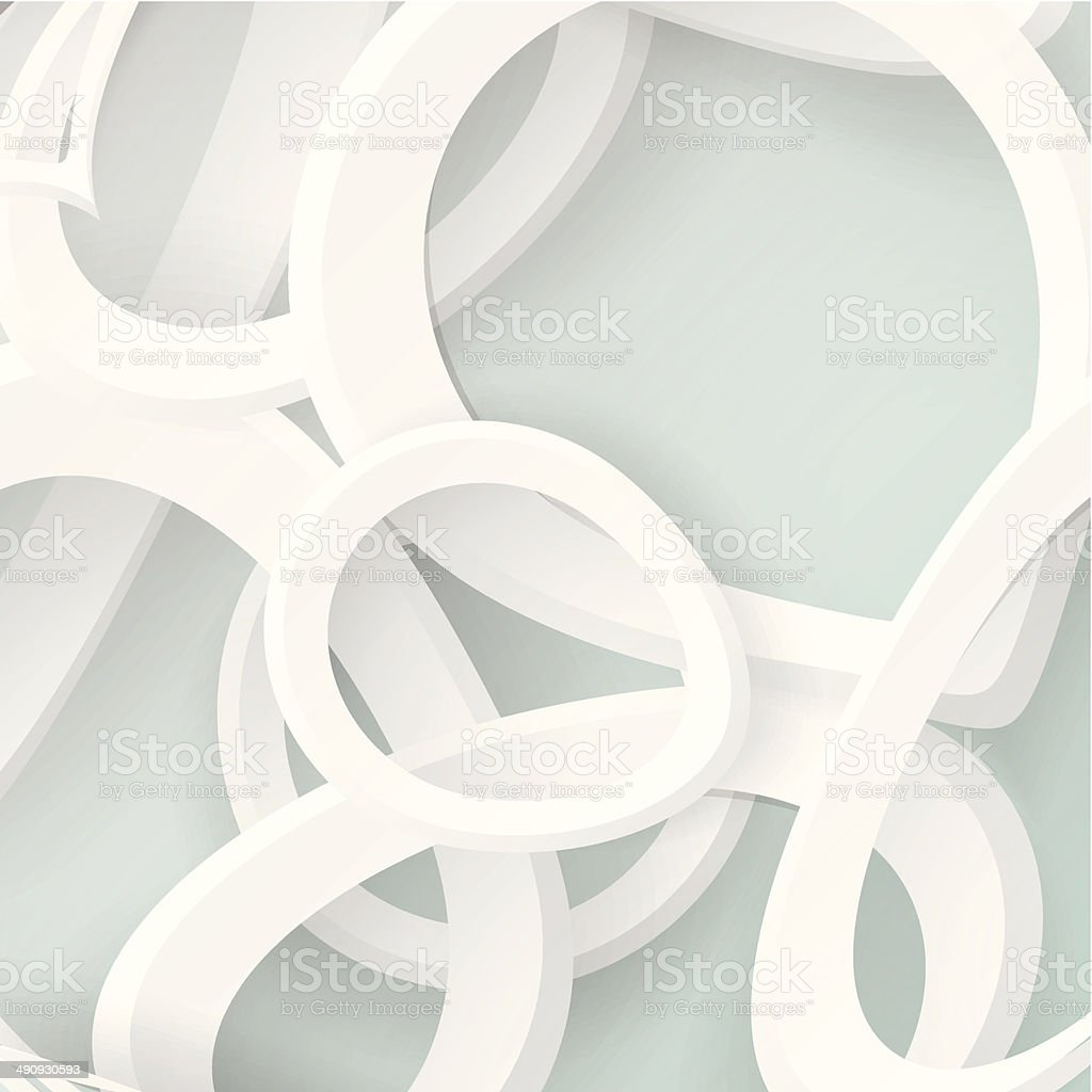 abstract gray ring shape background vector art illustration