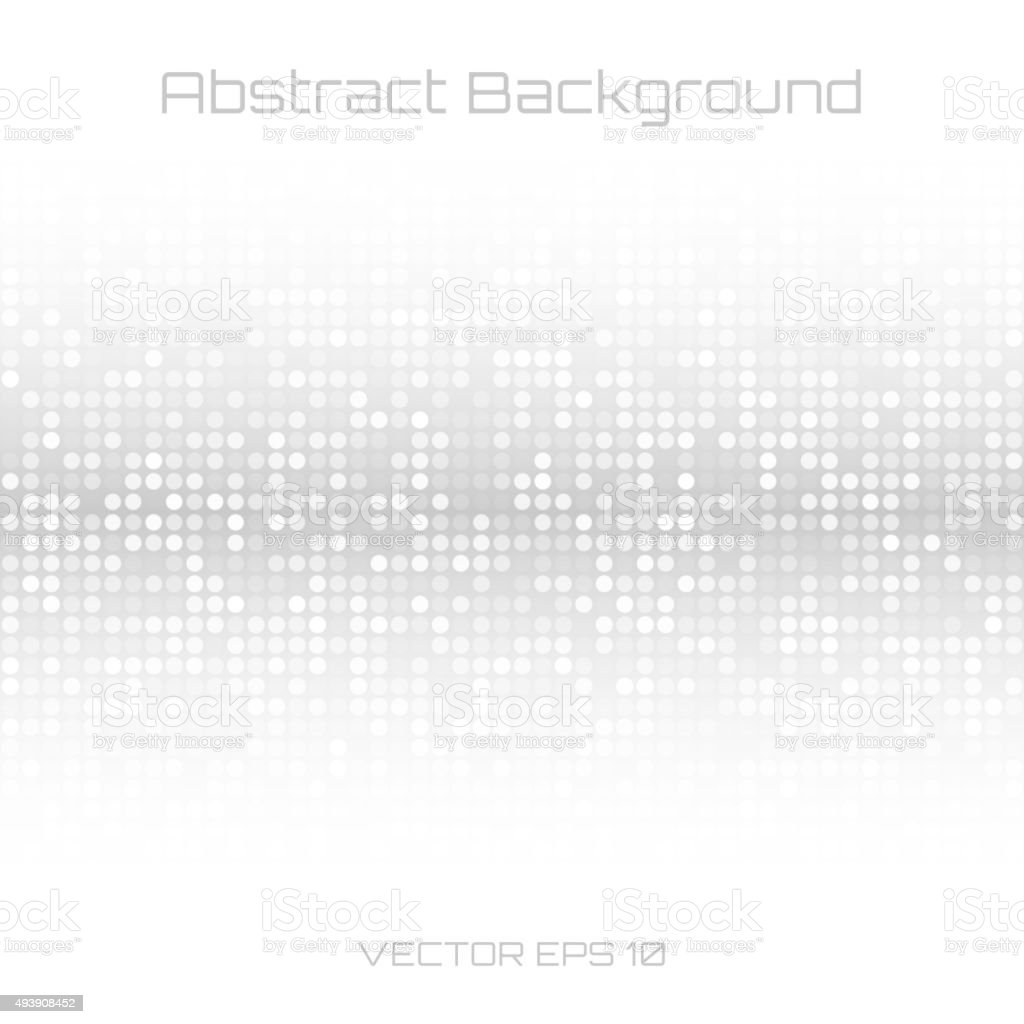 Abstract Gray Technology Cover Background vector art illustration