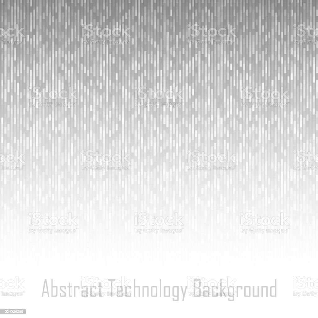 Abstract Gray Technology Lines Background vector art illustration