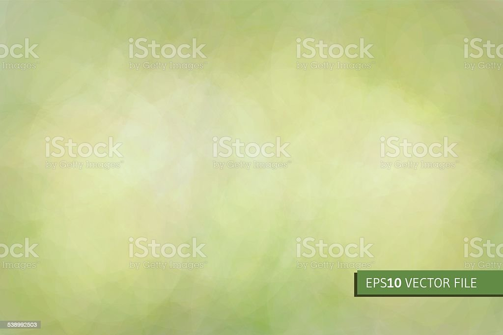 Abstract green background vector art illustration
