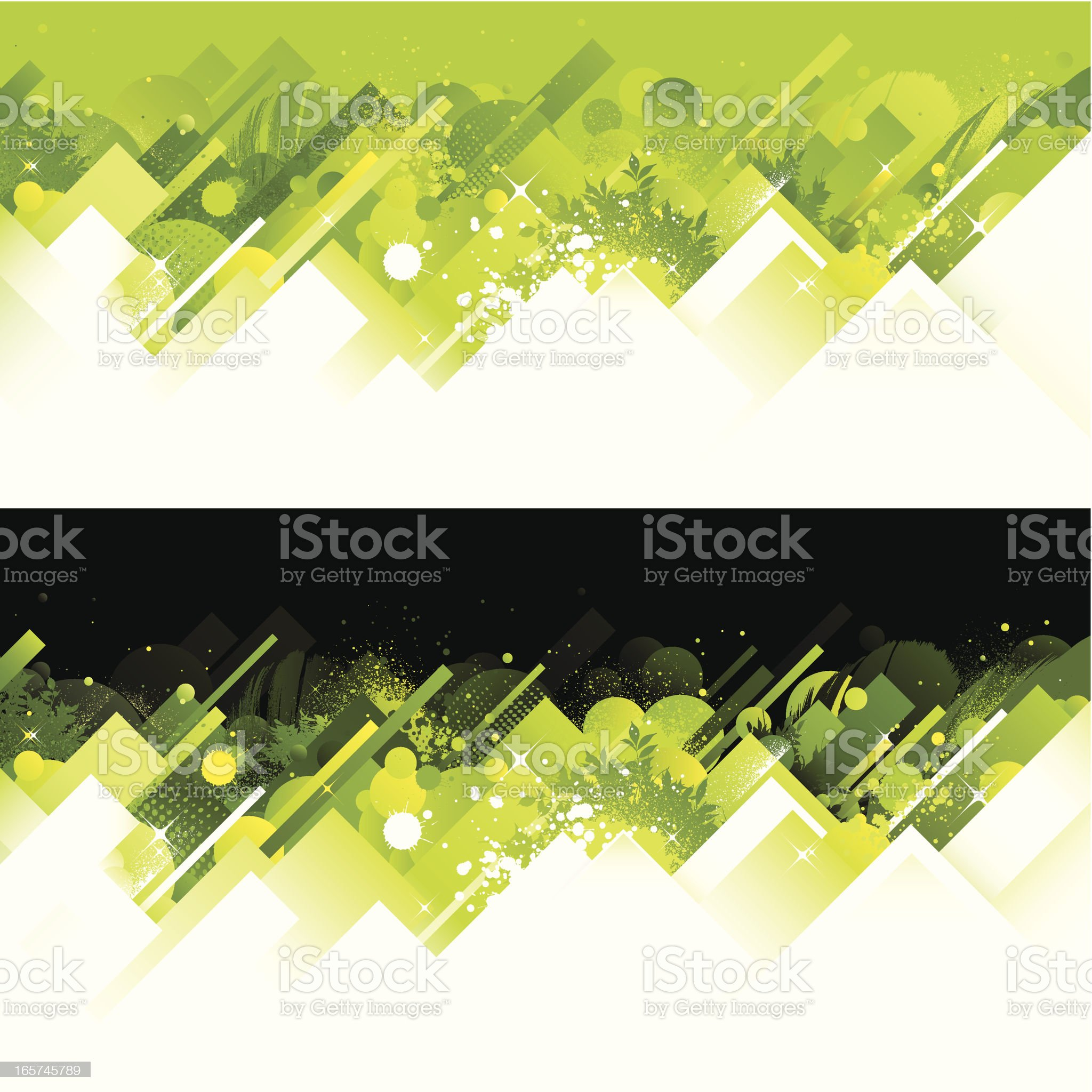 Abstract green backgrounds royalty-free stock vector art