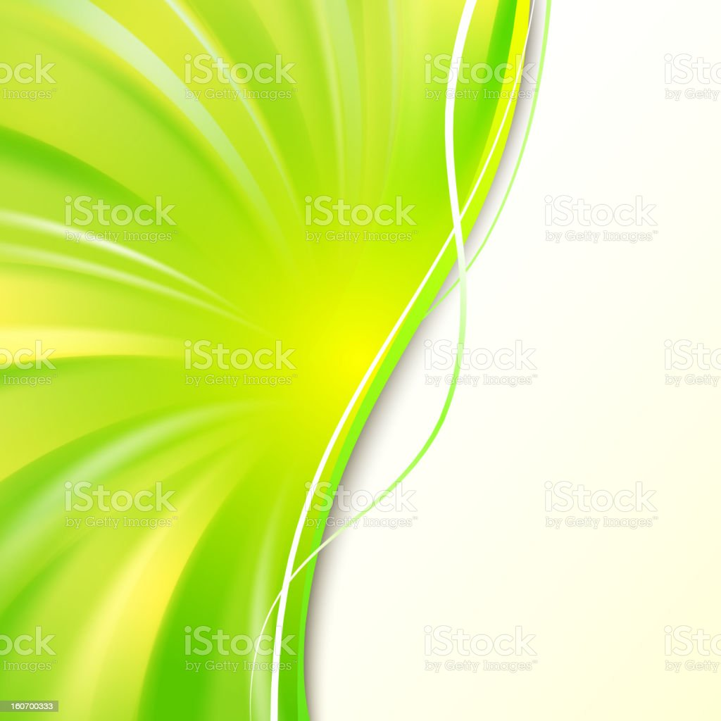 Abstract green cover. royalty-free stock vector art
