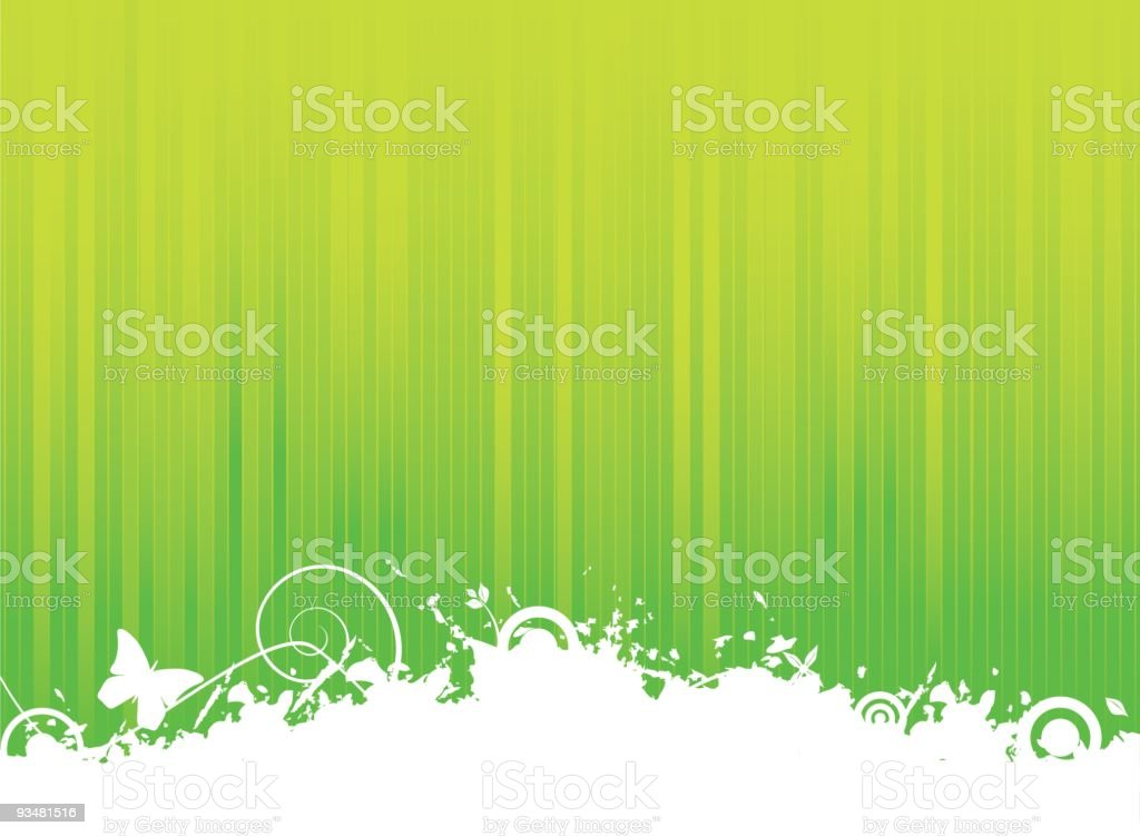 Abstract green grunge background royalty-free stock vector art