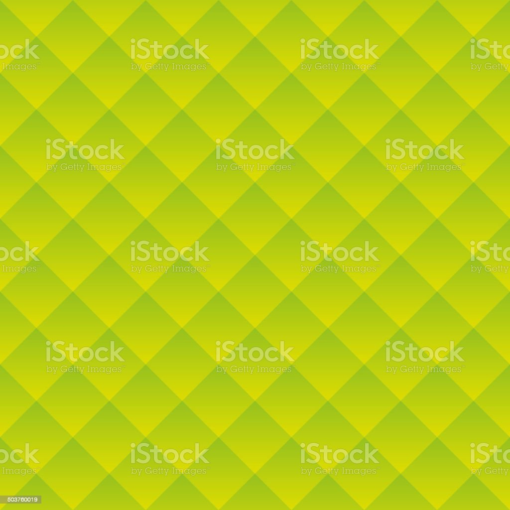 Abstract Green Square Geometric Background. Vector royalty-free stock vector art