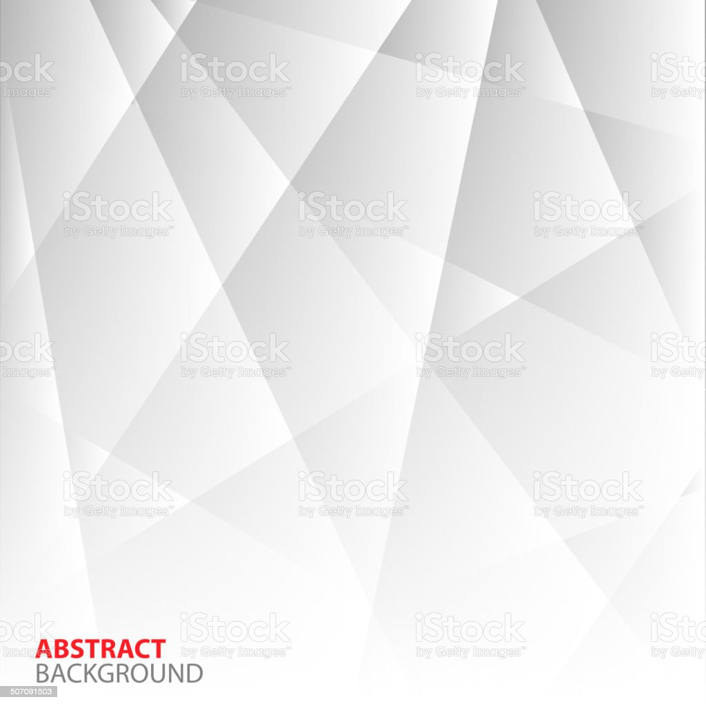 Abstract Grey Geometric Background. vector art illustration