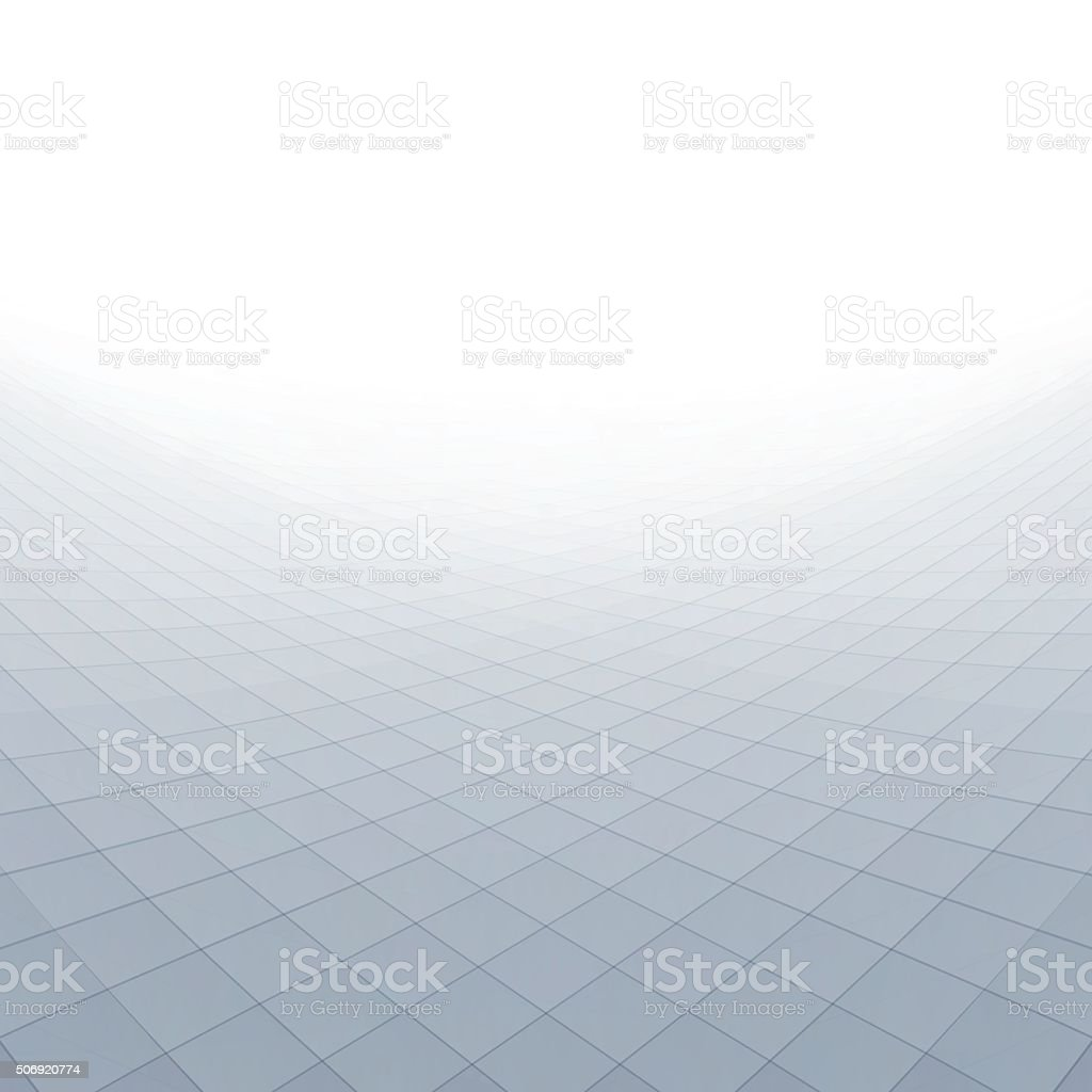 Abstract grey perspective background vector art illustration