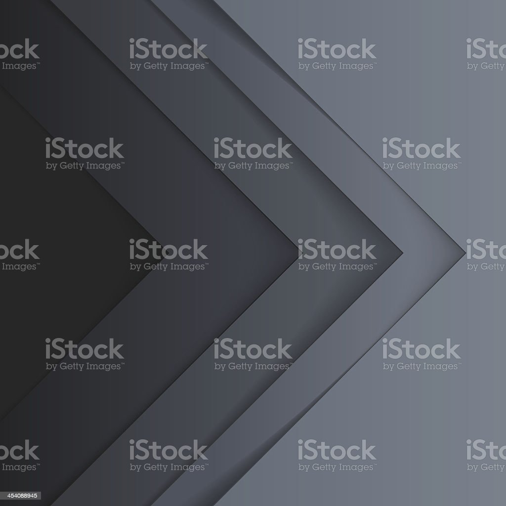 Abstract grey triangle shapes background royalty-free stock vector art