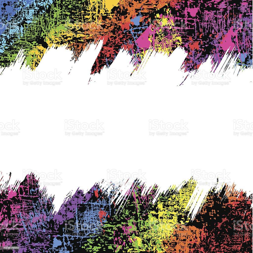 Abstract Grunge Background vector art illustration