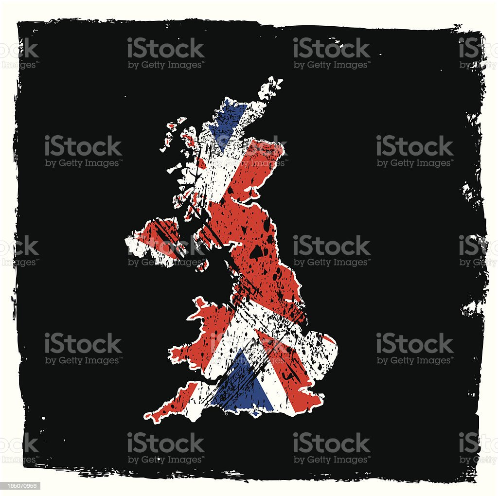 UK Abstract Grunge Series royalty-free stock vector art