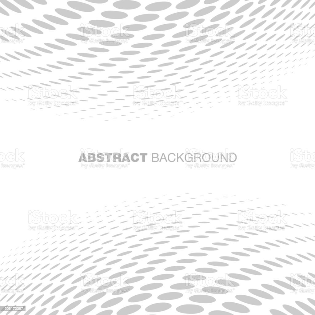 Abstract Halftone Gray Technology Background vector art illustration