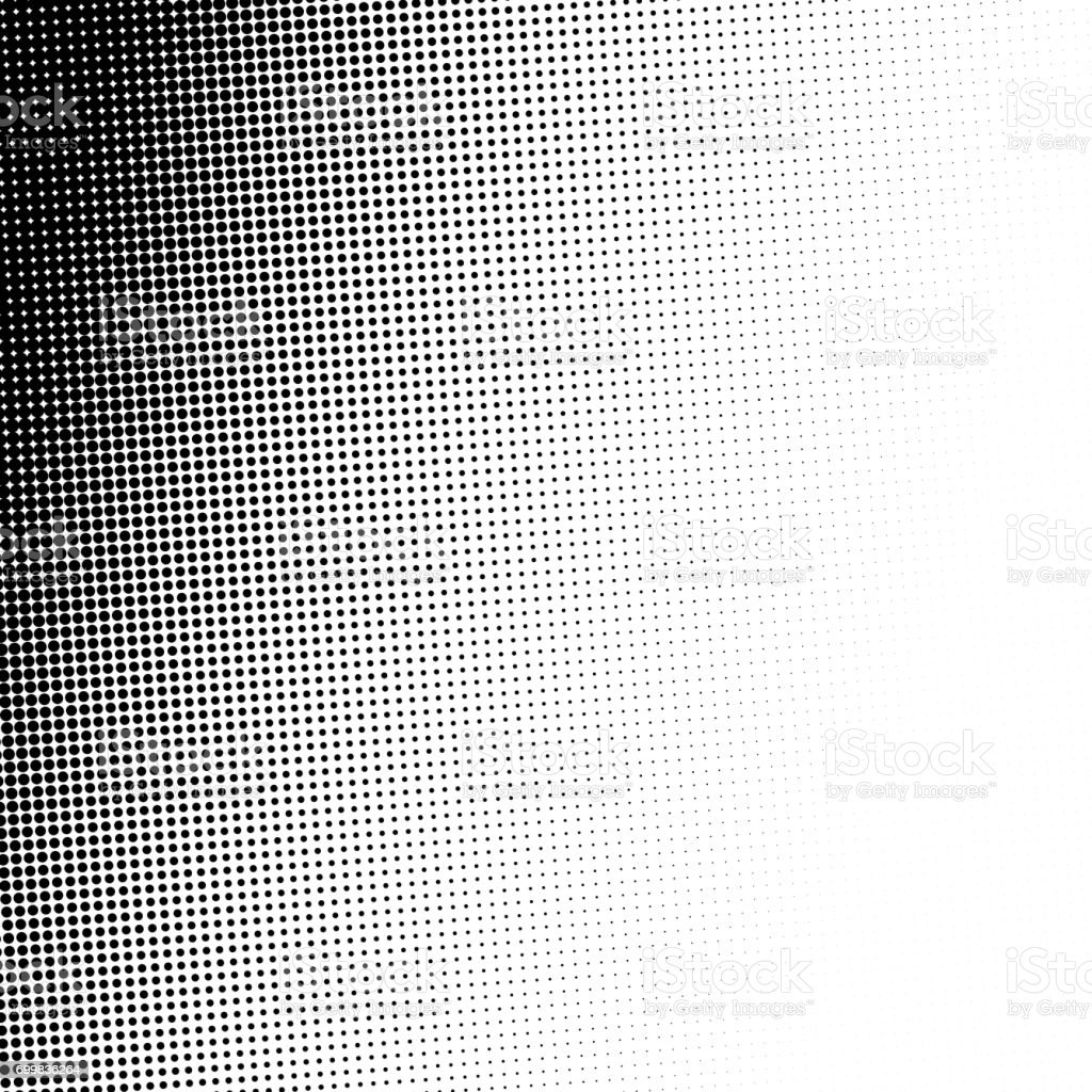 Abstract halftone, minimalistic background from dots. Comic style backdrop, gradient halftone pop-art retro style. Template for ad, covers, posters, advertising actions vector art illustration