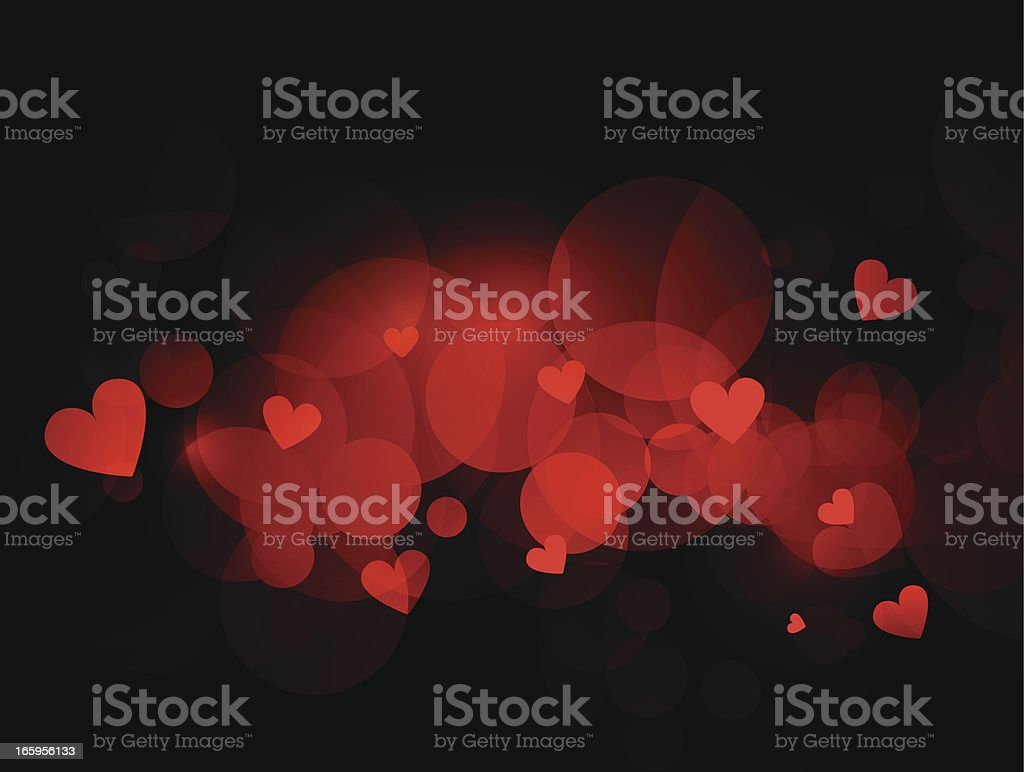 Abstract hearts background royalty-free stock vector art