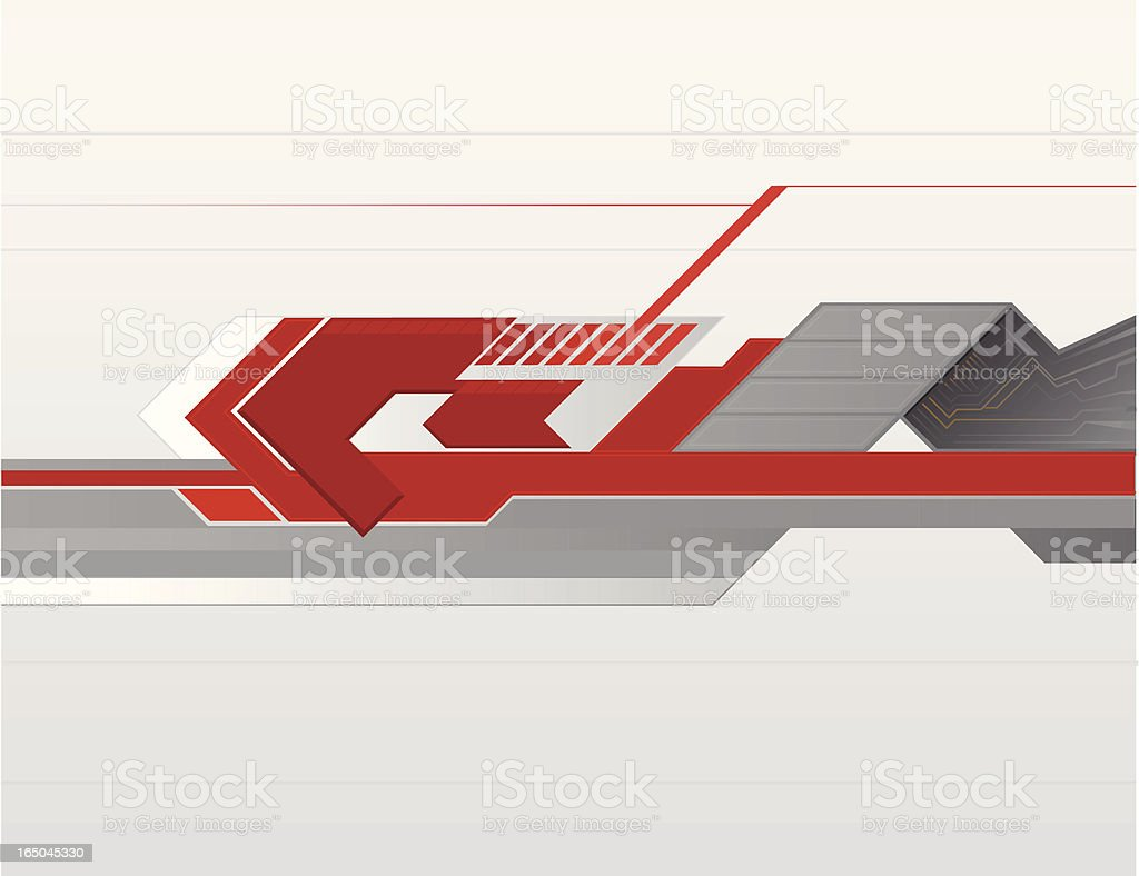 Abstract Hitech Background 1 royalty-free stock vector art