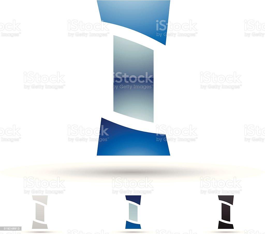 Icône abstraite pour la lettre J stock vecteur libres de droits libre de droits