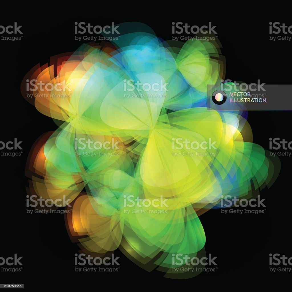 Abstract illustration. vector art illustration