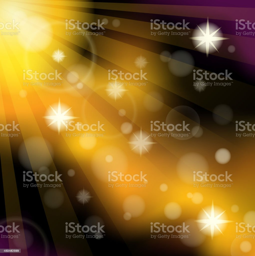 Abstract image with sunlight rays 3 royalty-free stock vector art