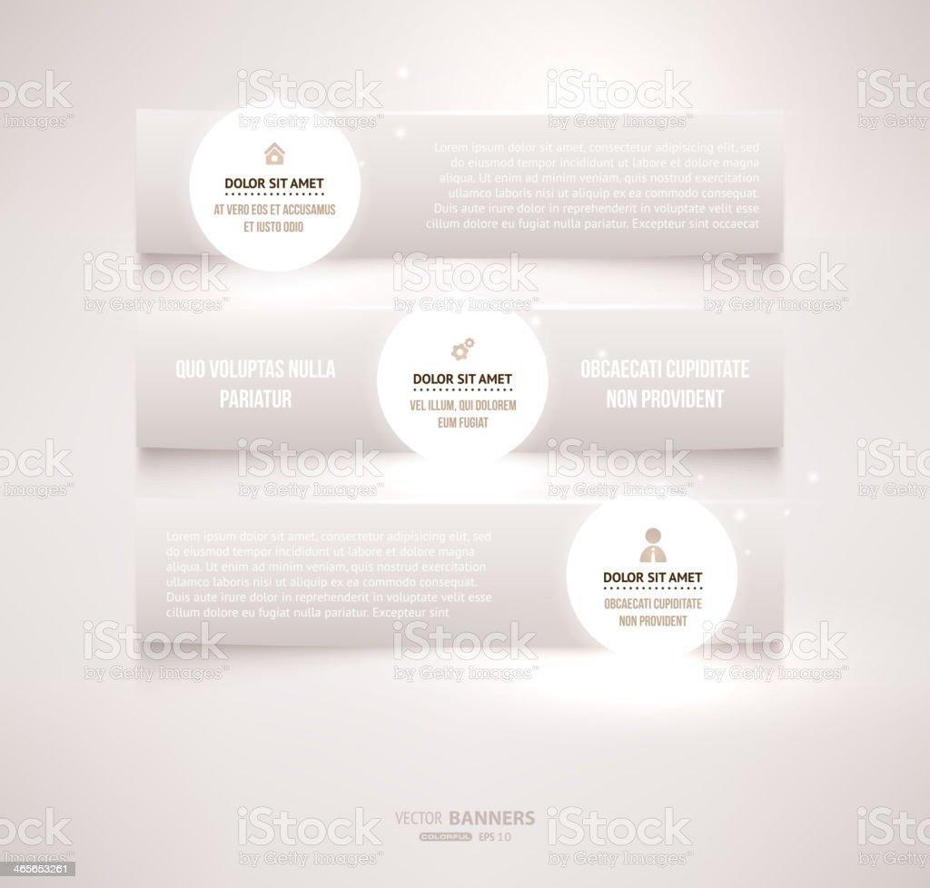 Abstract Infograph Design royalty-free stock vector art