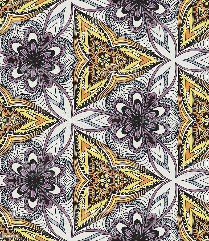 Abstract kaleidoscope royalty-free stock vector art