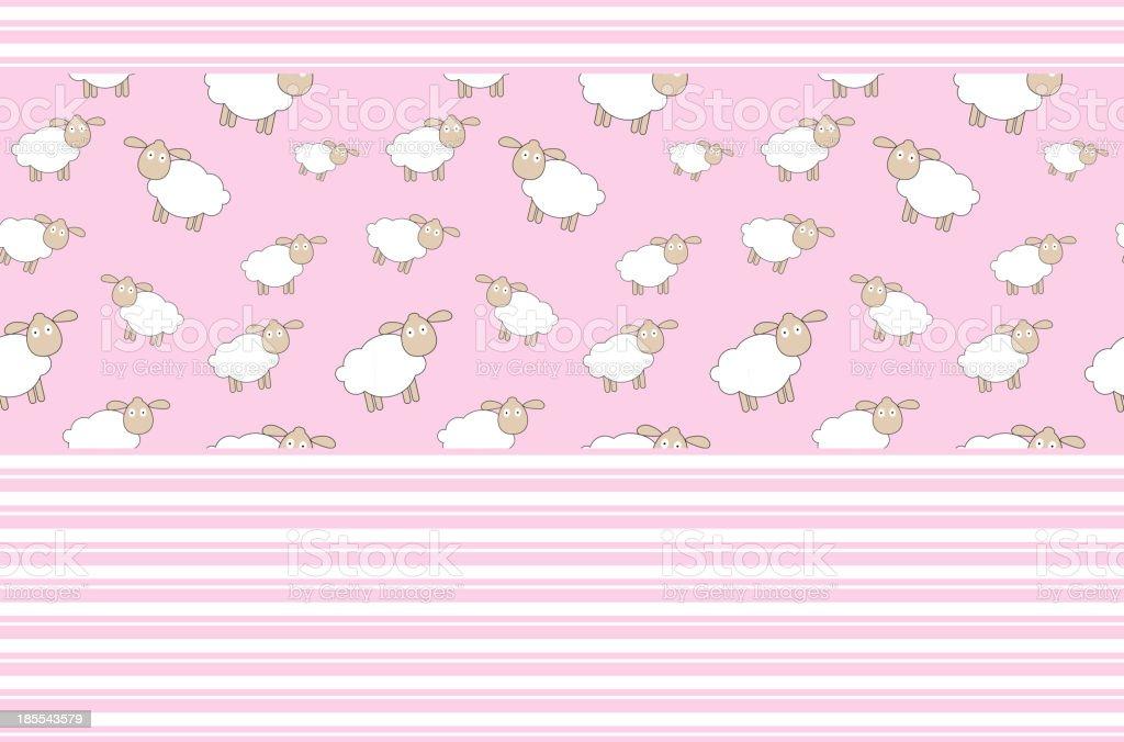 Abstract lamb background vector illustration royalty-free stock vector art