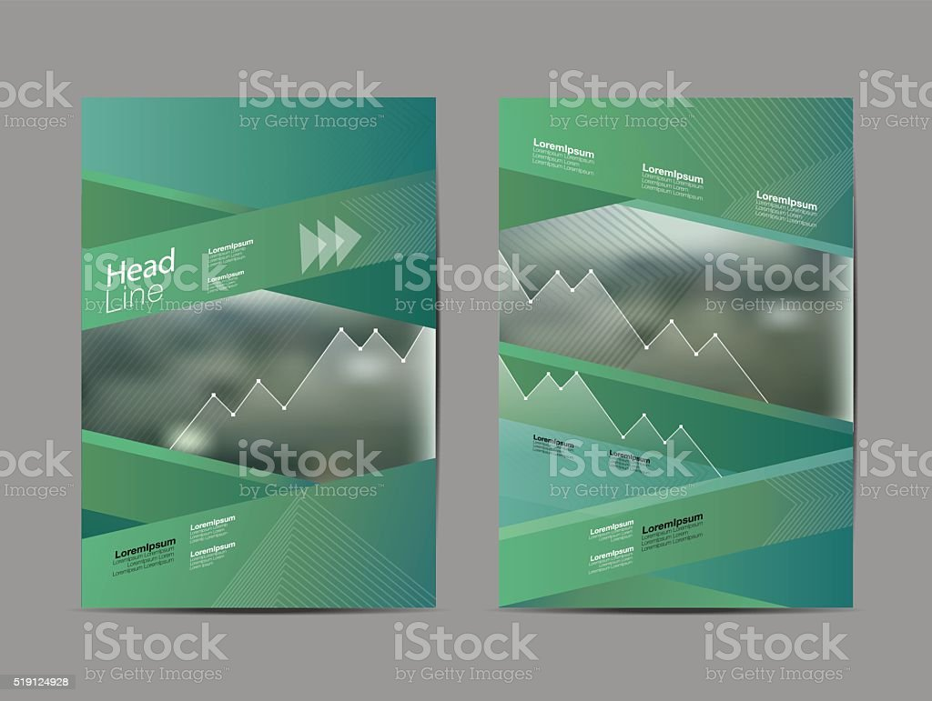 Abstract layout design ,Brochure Flyer design vector template vector art illustration