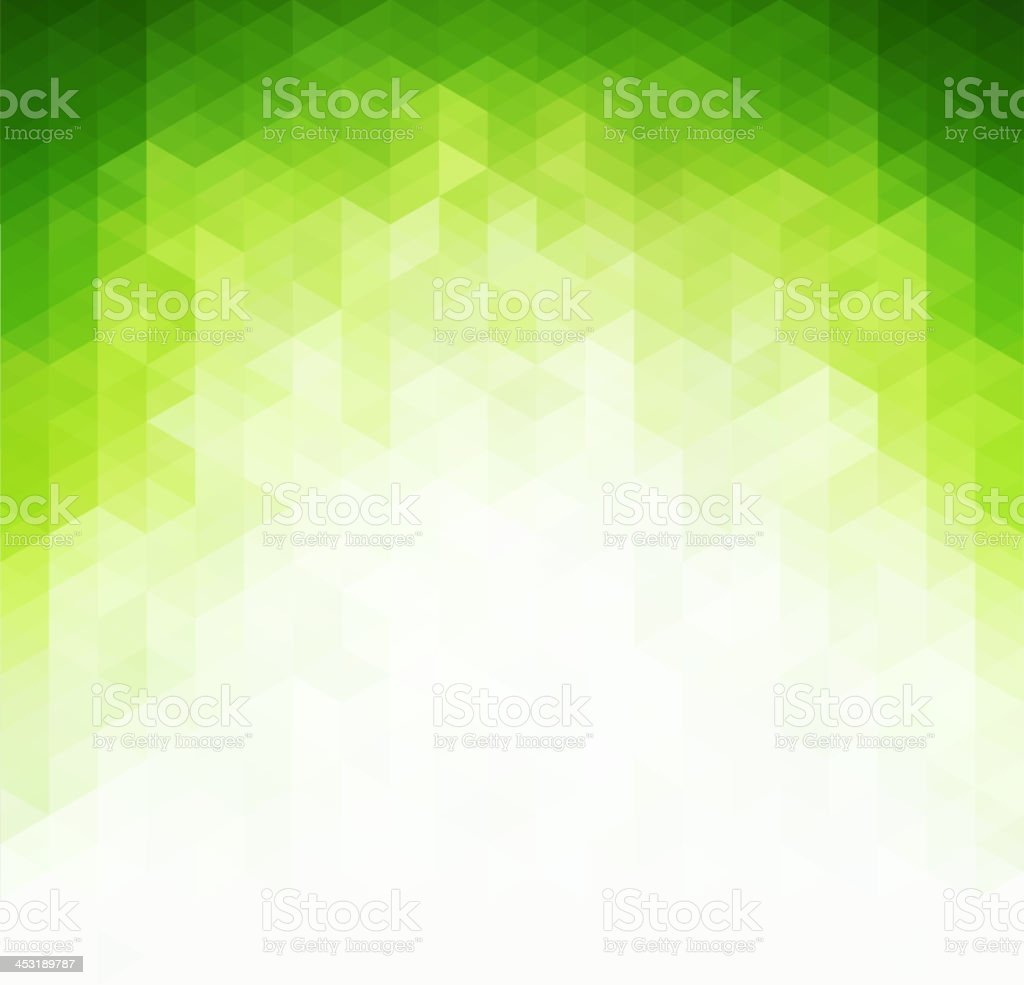Abstract light green background vector art illustration