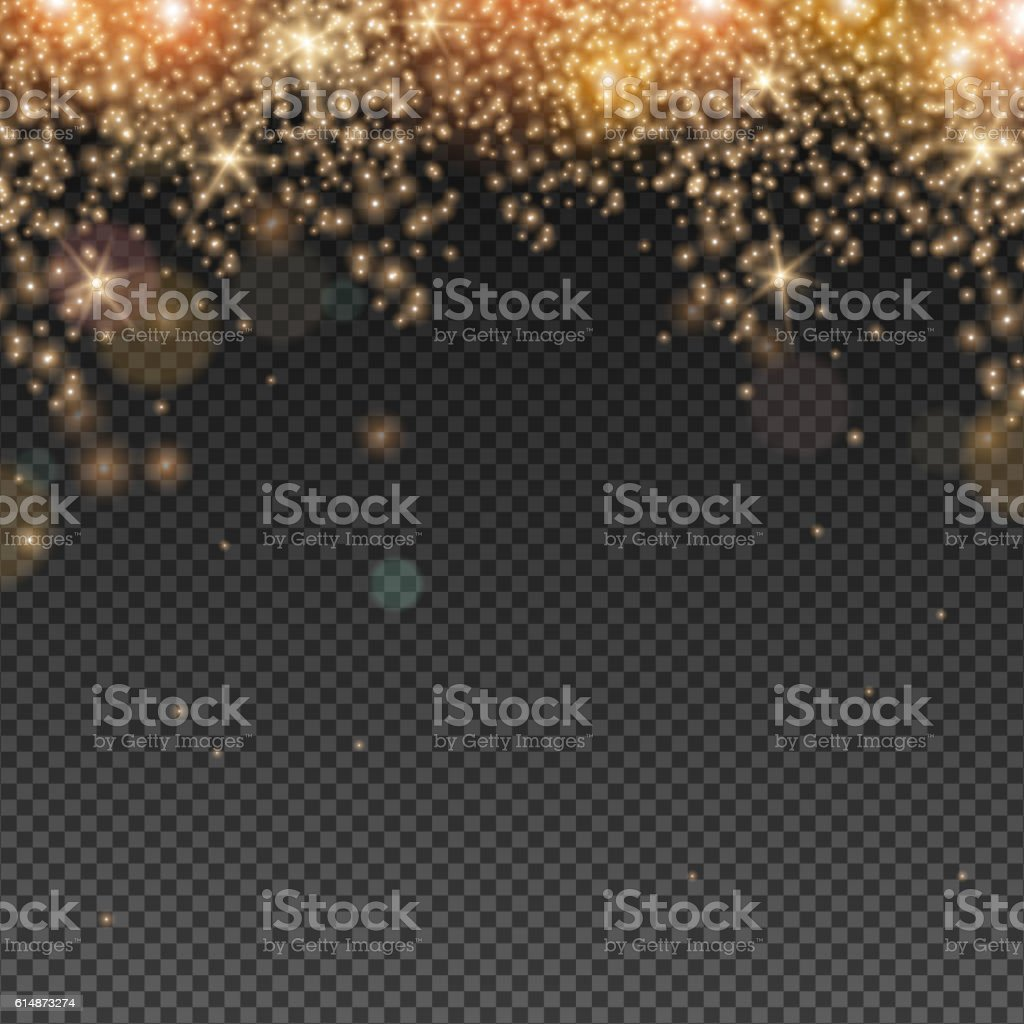 Abstract Light Overlay Effect vector art illustration
