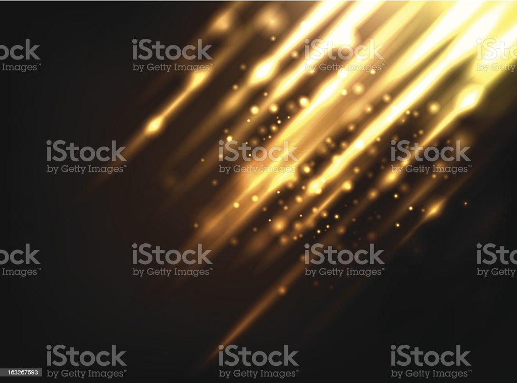 Abstract Lighting Background royalty-free stock vector art