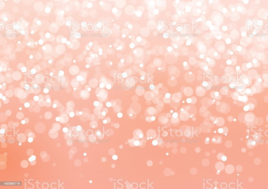 Abstract Lights on Pink Background vector art illustration