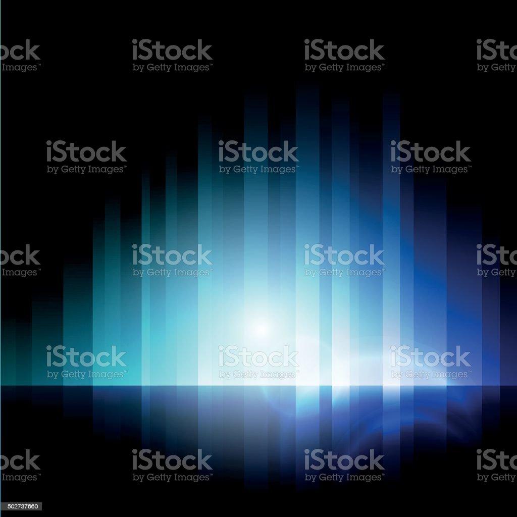 Abstract lights vector art illustration