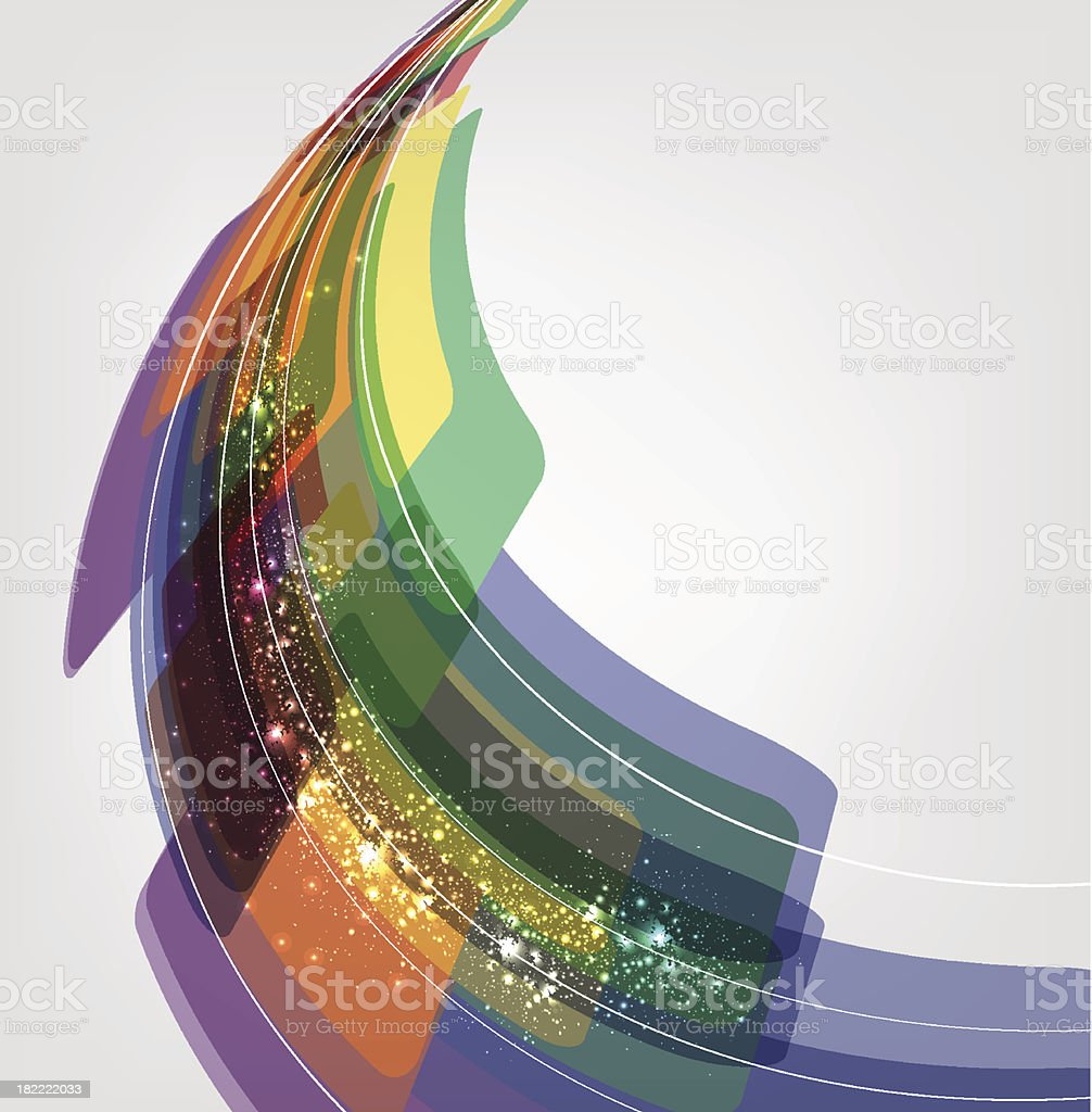 Abstract Line Background Vector royalty-free stock vector art