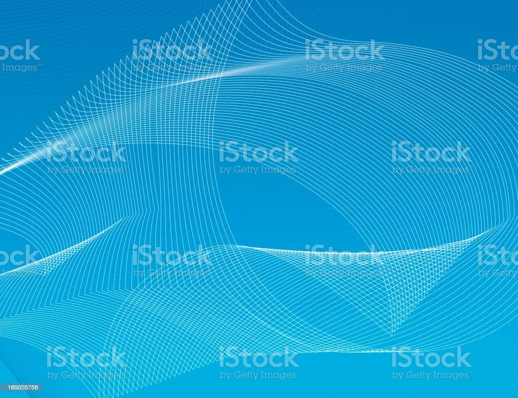 abstract lines background aqua royalty-free stock vector art