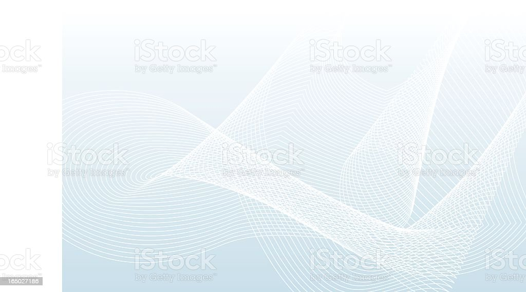abstract lines background blue vector art illustration