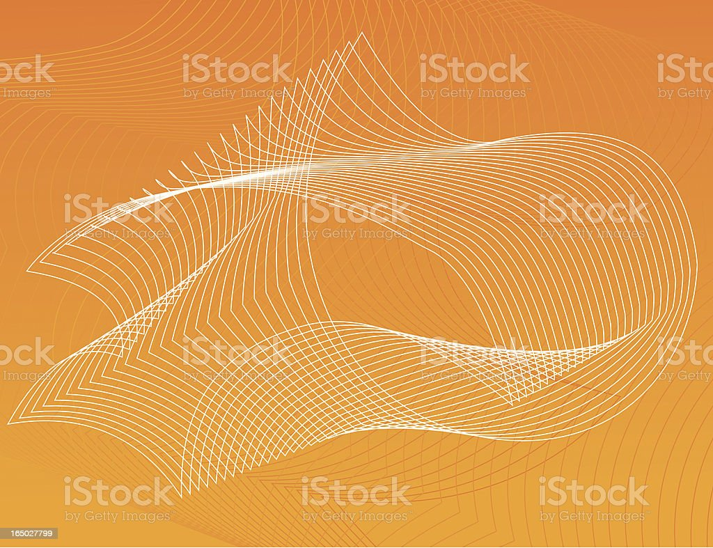 abstract lines background orange royalty-free stock vector art