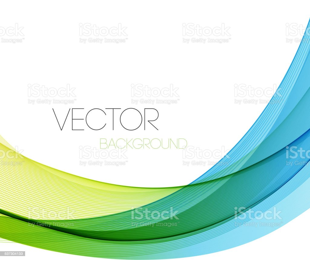 Abstract lines background. Template brochure design vector art illustration