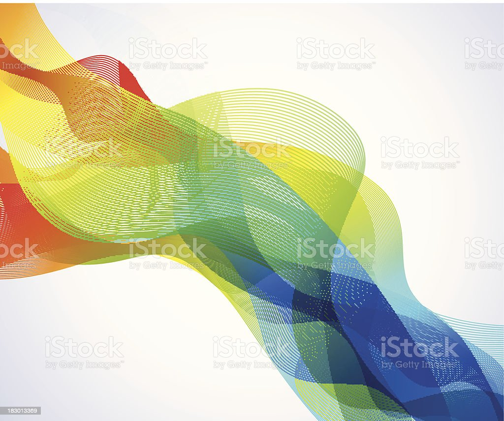 Abstract lines royalty-free stock vector art