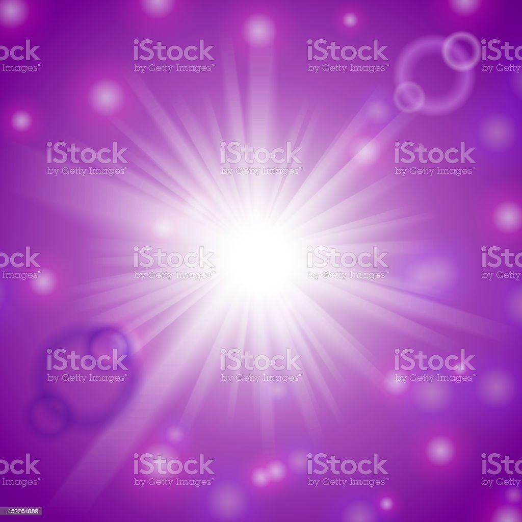 Abstract magic light lilac background. royalty-free stock vector art