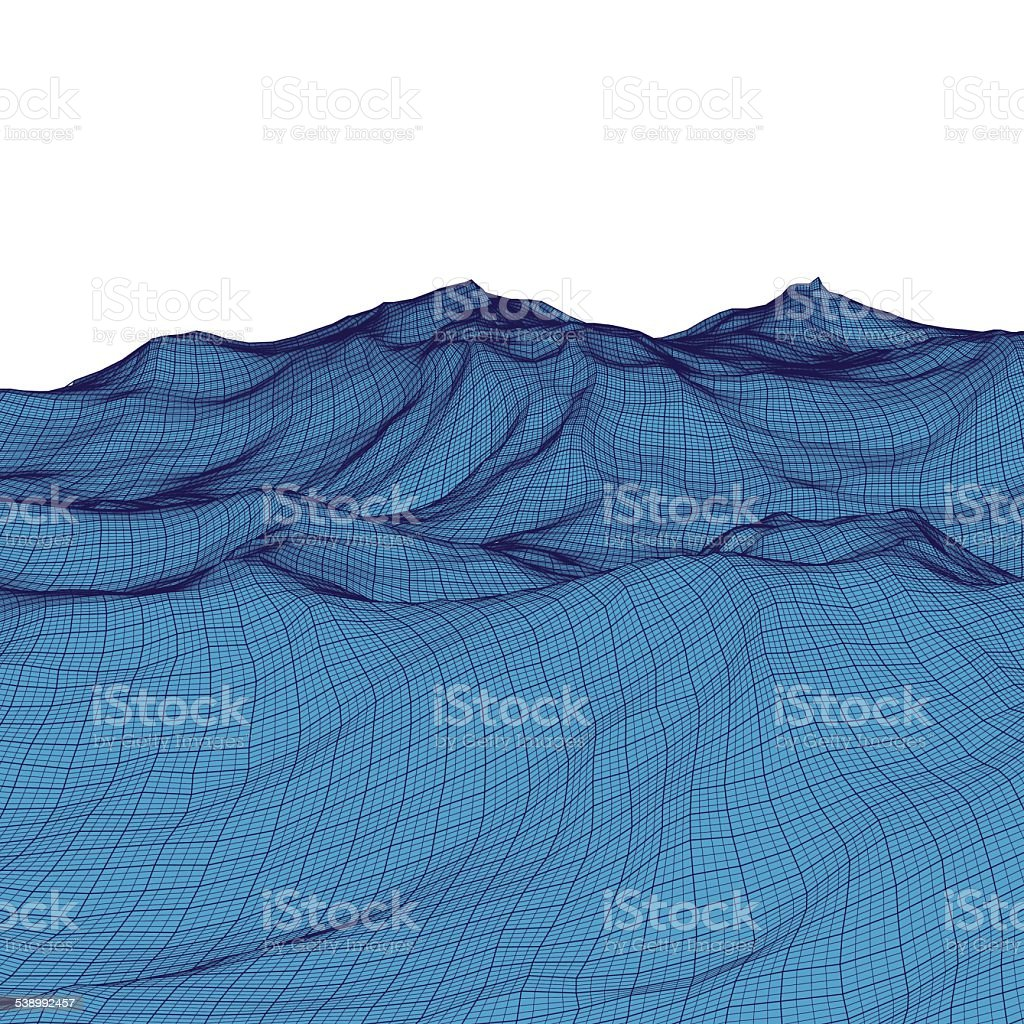 Abstract Mesh Background vector art illustration