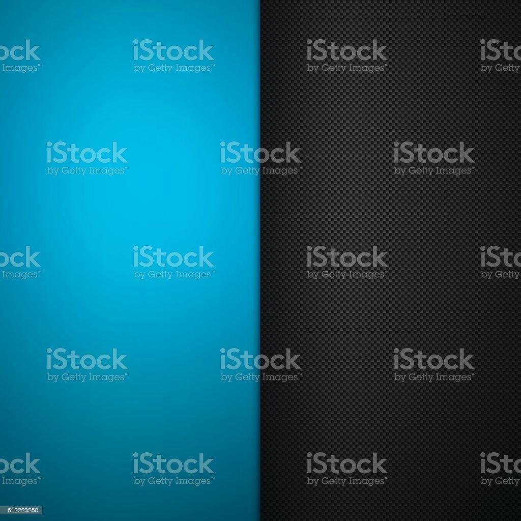 Abstract Metal Background - Carbon Fiber Texture vector art illustration