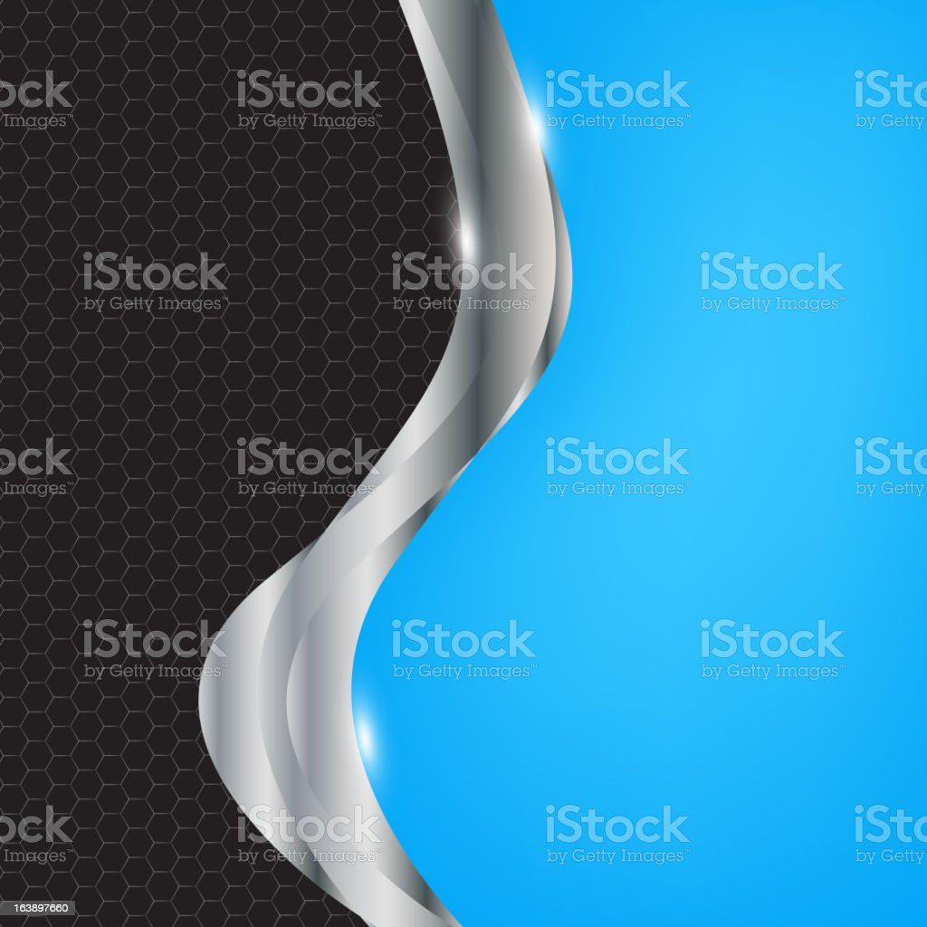 Abstract metal background. Vector illustration. royalty-free stock vector art