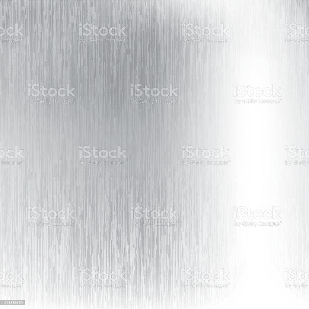 Abstract metallic silver vector background vector art illustration