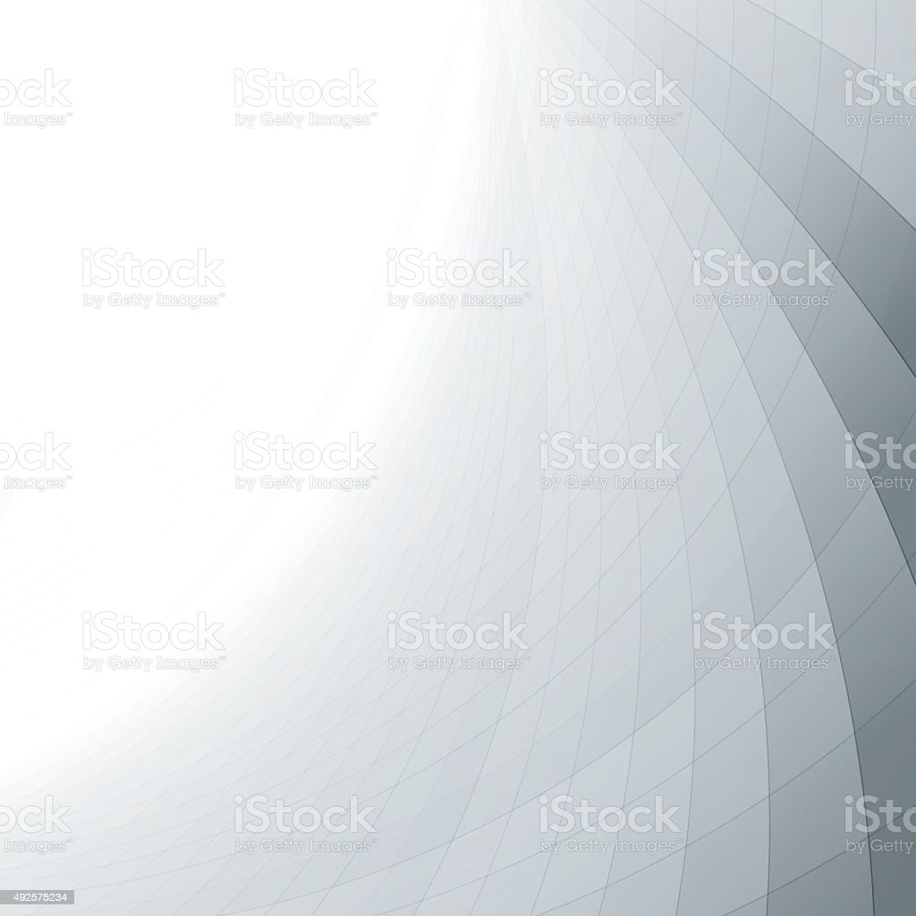 Abstract minimal background with perspective effect vector art illustration