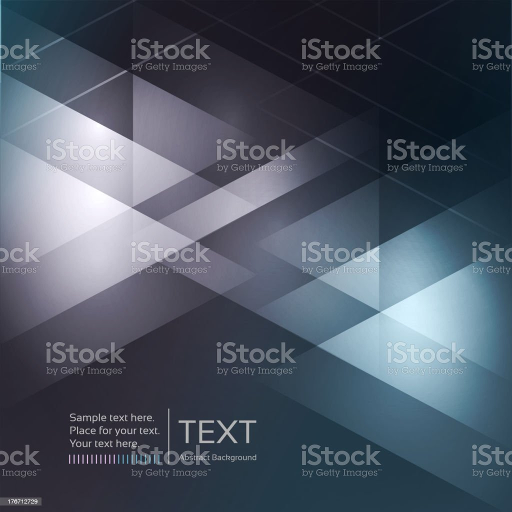 Abstract modern mosaic background royalty-free stock vector art