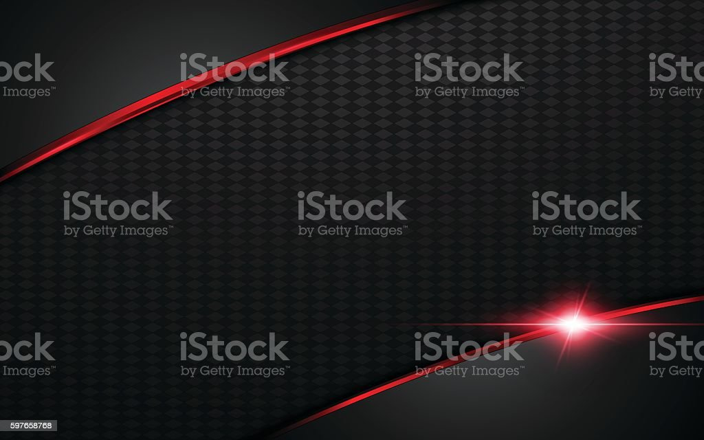 abstract modern red silver steel frame layout design template background vector art illustration