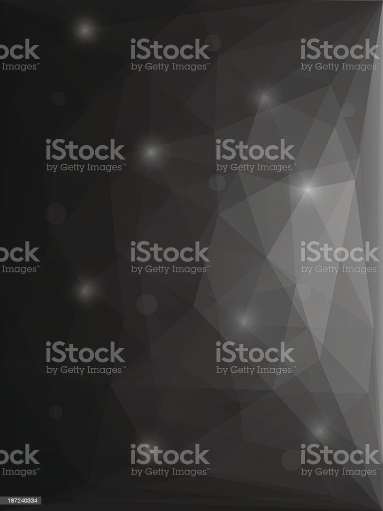 Abstract modern style polygon background royalty-free stock vector art