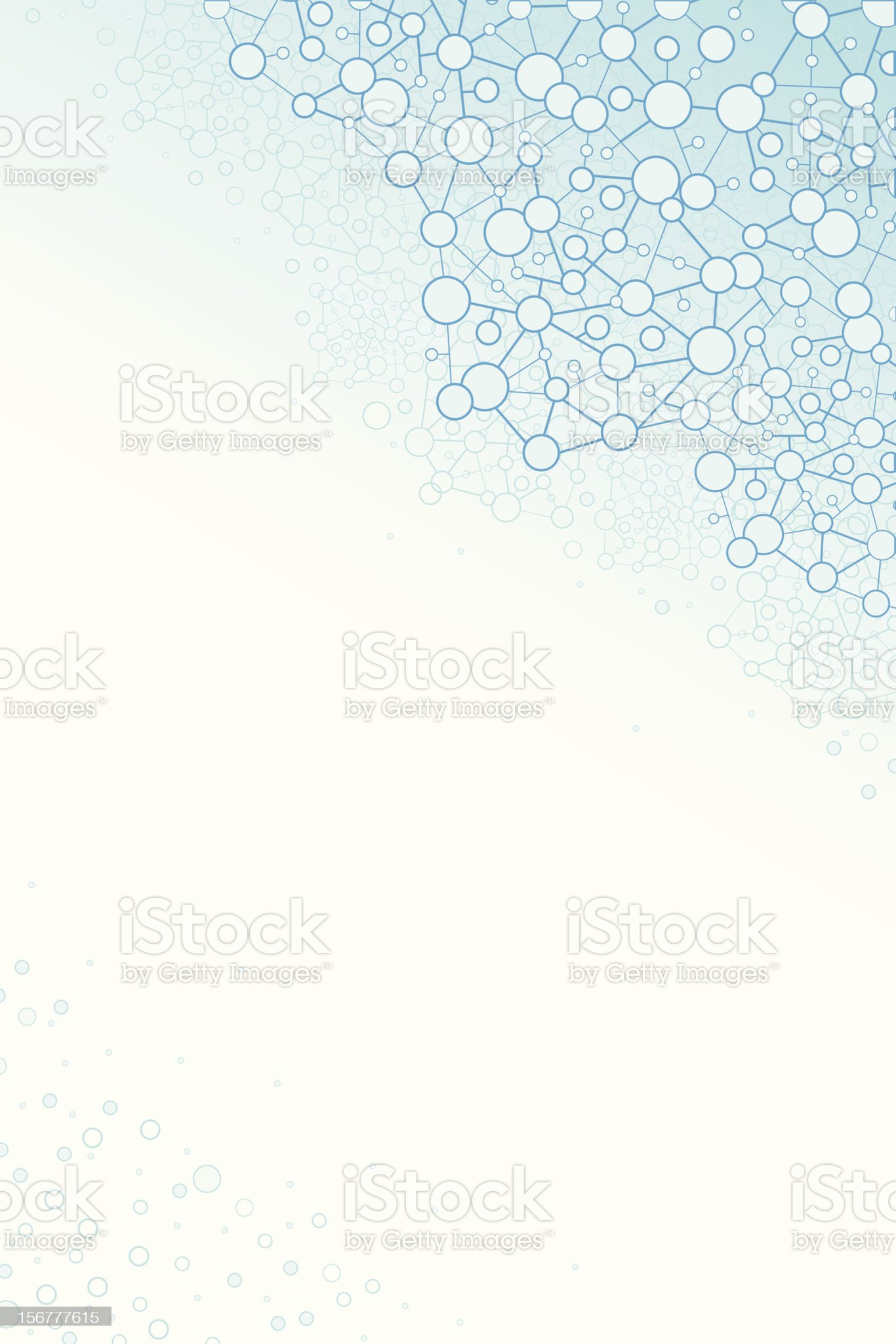 Abstract Molecules Background royalty-free stock vector art